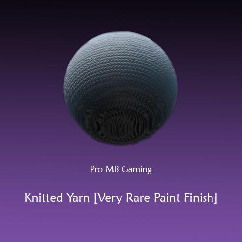 Knitted Yarn Rocket League