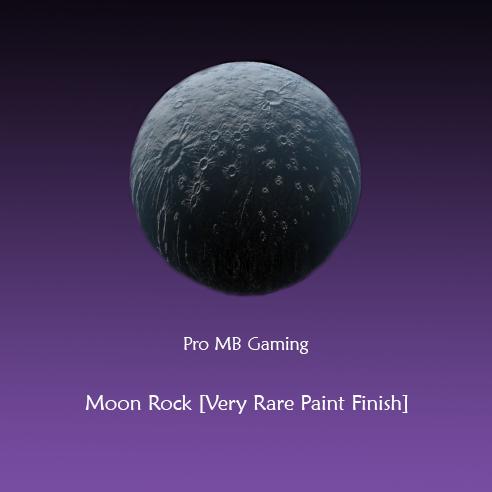 Moon Rock Rocket League