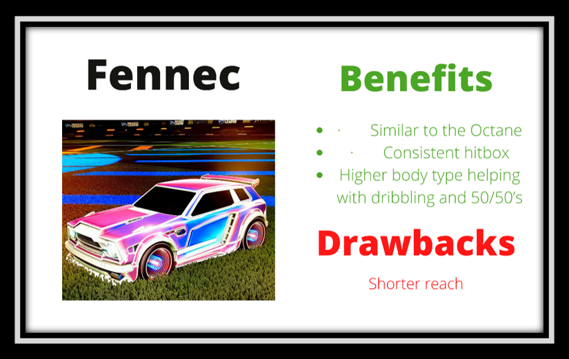 rocket league fennec benefits
