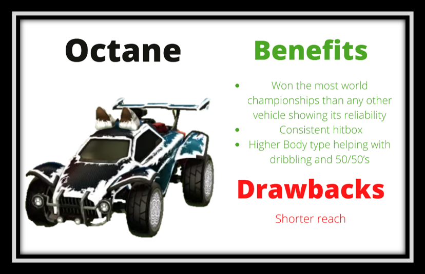 rocket league octane benefits