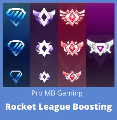 Rocket League rank boosting